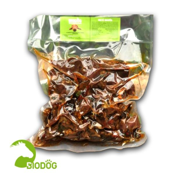 Menú Biodog Seco