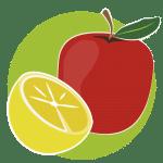 Frutas Fibra, Minerales y Vitaminas
