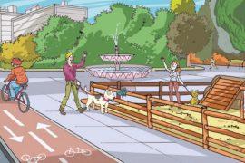 seguridad perros ciudad